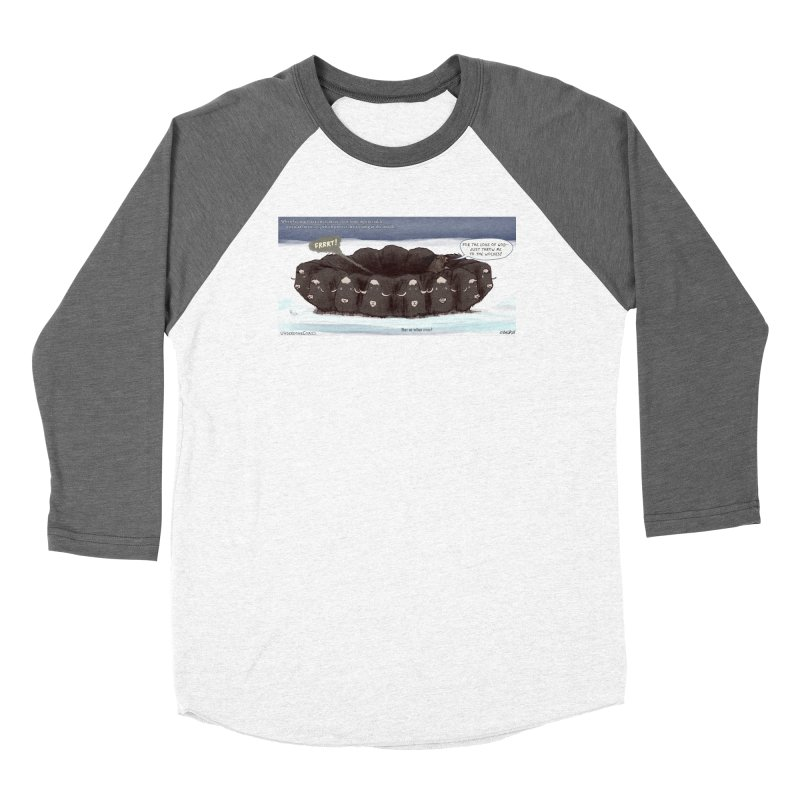 A Muskox Circle Women's Longsleeve T-Shirt by The Underdone Comics Shop