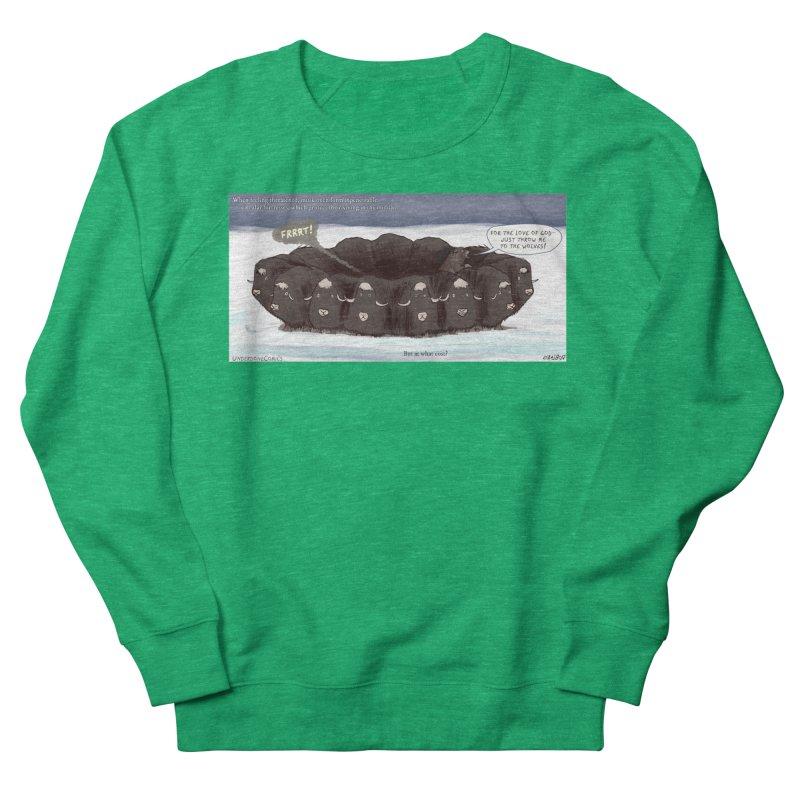 A Muskox Circle Women's Sweatshirt by The Underdone Comics Shop