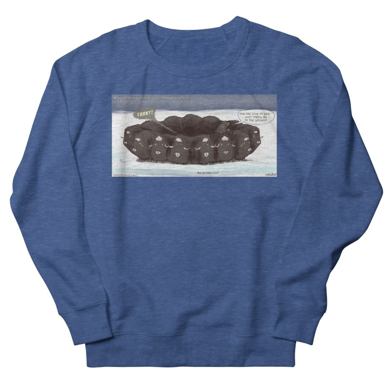 A Muskox Circle Men's Sweatshirt by The Underdone Comics Shop