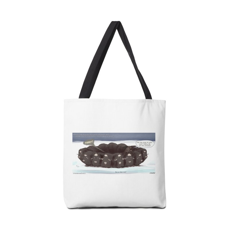 A Muskox Circle Accessories Bag by The Underdone Comics Shop