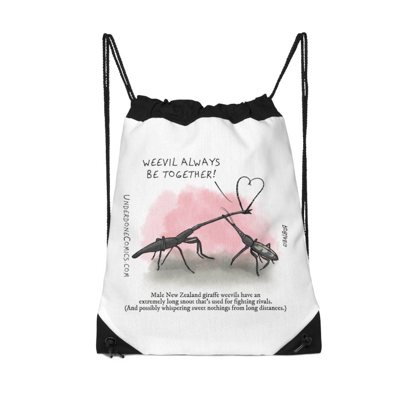 Giraffe Weevil Alvays Be Together Accessories Bag by The Underdone Comics Shop