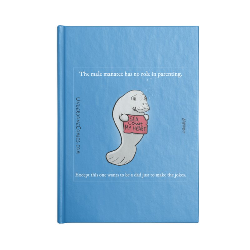 Sea COWt My Heart Accessories Notebook by The Underdone Comics Shop