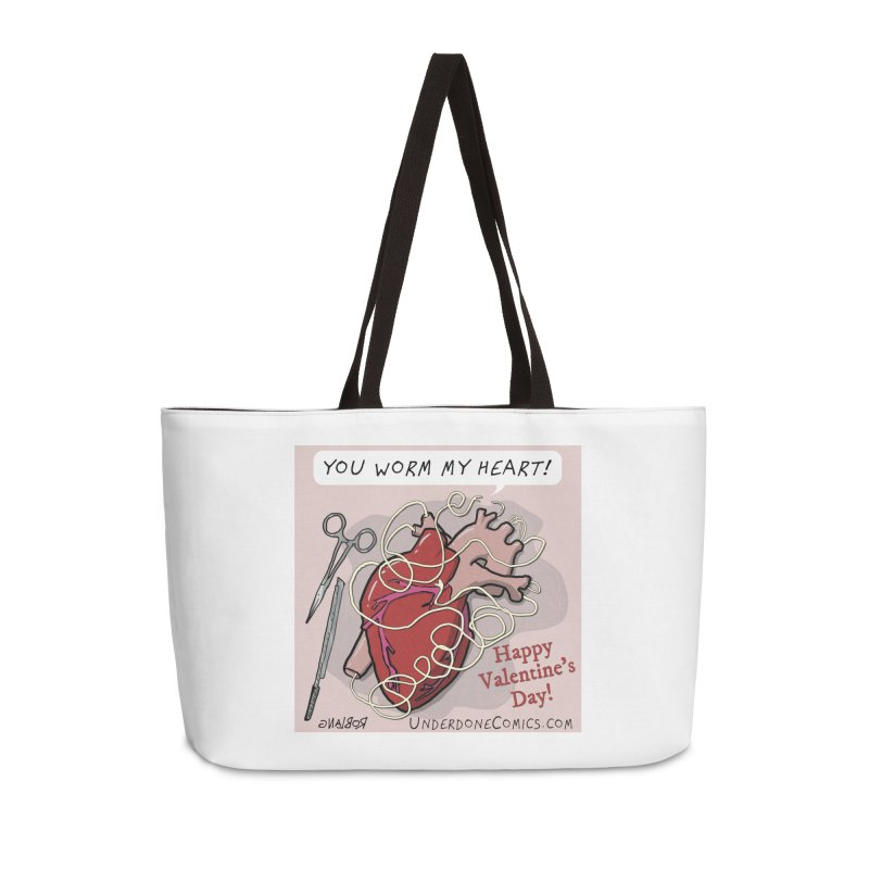 You Worm My Heart Accessories Bag by The Underdone Comics Shop