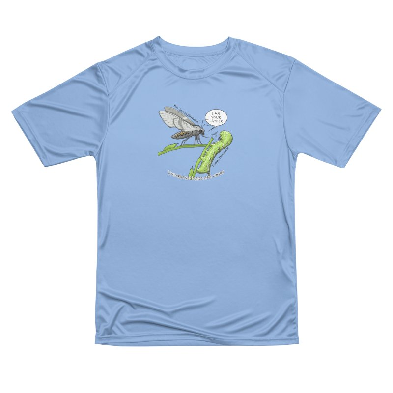 Tomato Hornworm & Hawkmoth: Father & Child Men's T-Shirt by The Underdone Comics Shop