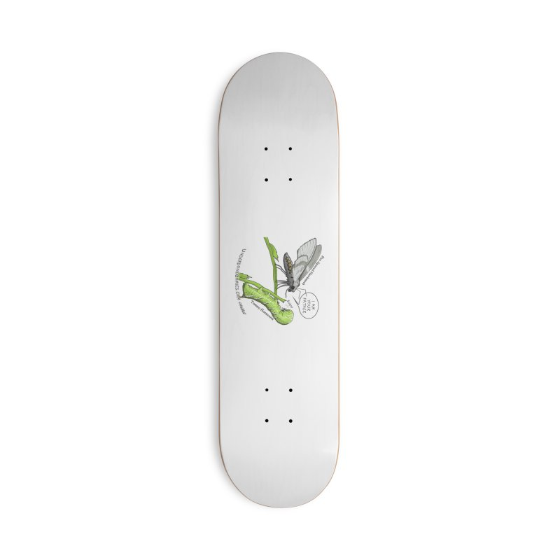 Tomato Hornworm & Hawkmoth: Father & Child Accessories Skateboard by The Underdone Comics Shop