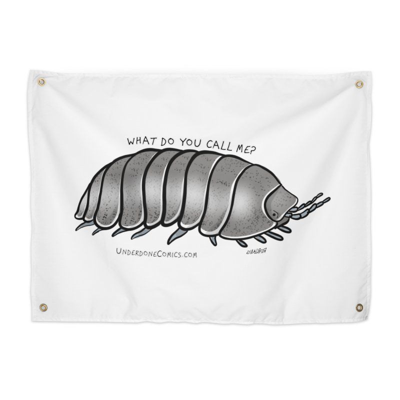 What do YOU call an ISOPOD? Home Tapestry by The Underdone Comics Shop