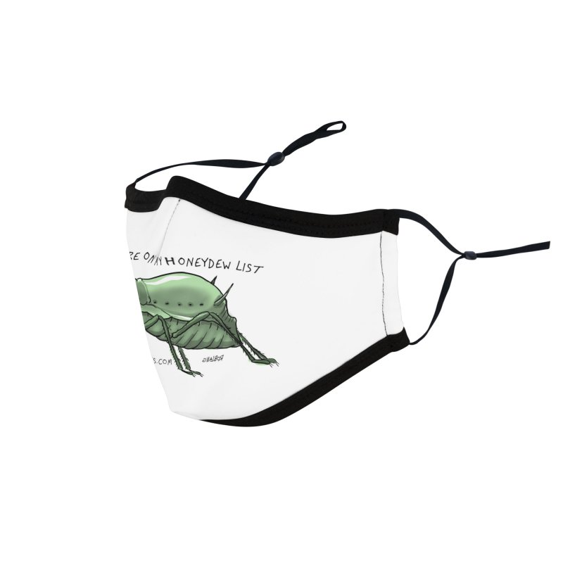 Aphid has you on its Honeydew List Accessories Face Mask by The Underdone Comics Shop