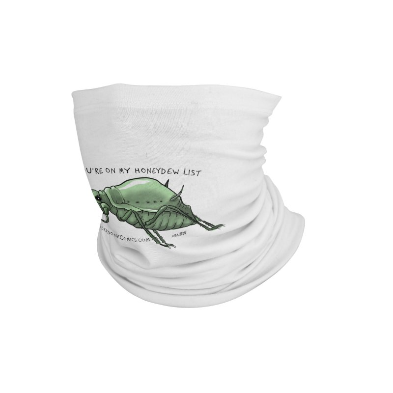 Aphid has you on its Honeydew List Accessories Neck Gaiter by The Underdone Comics Shop