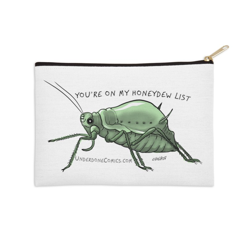 Aphid has you on its Honeydew List Accessories Zip Pouch by The Underdone Comics Shop