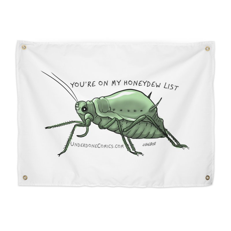 Aphid has you on its Honeydew List Home Tapestry by The Underdone Comics Shop