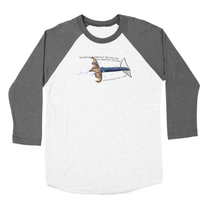 Neon Flying Squid Women's Longsleeve T-Shirt by The Underdone Comics Shop