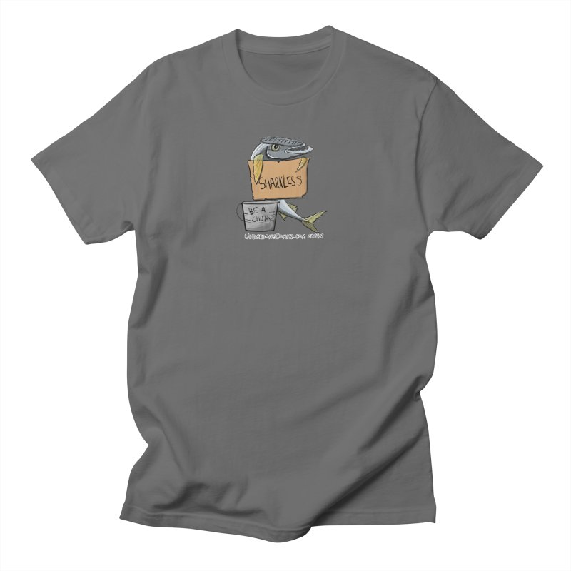 Sharkless Remora Men's T-Shirt by The Underdone Comics Shop