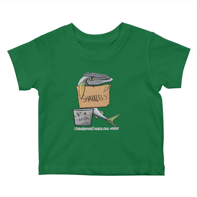 Sharkless Remora Kids Baby T-Shirt by The Underdone Comics Shop