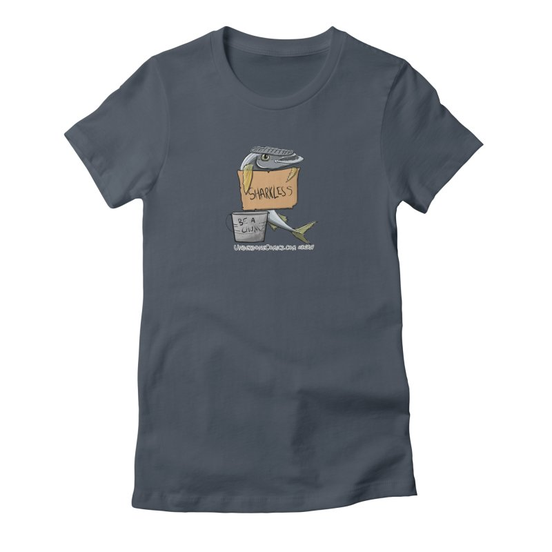Sharkless Remora Women's T-Shirt by The Underdone Comics Shop