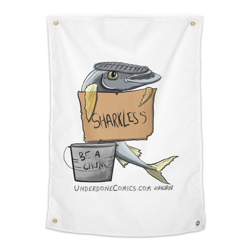 Sharkless Remora Home Tapestry by The Underdone Comics Shop