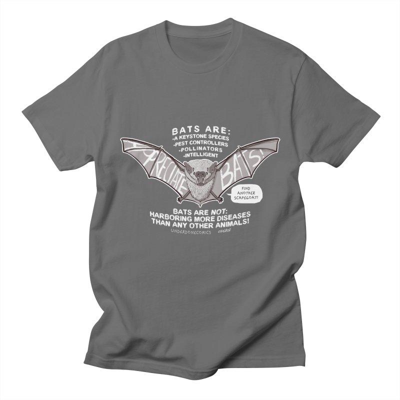 Appreciate Bats! Men's T-Shirt by The Underdone Comics Shop