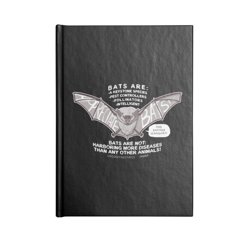 Appreciate Bats! Accessories Notebook by The Underdone Comics Shop