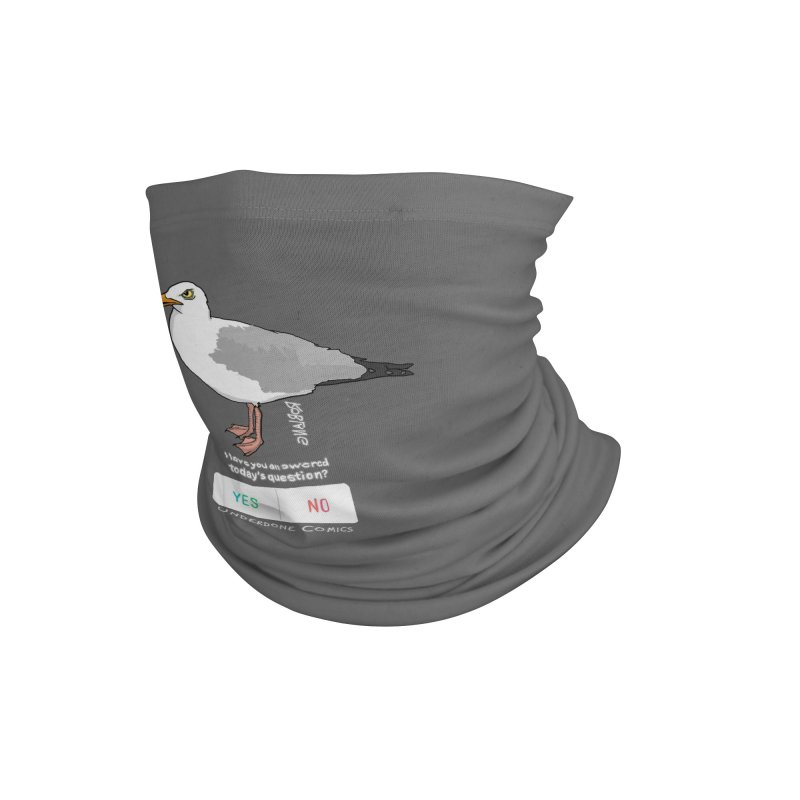 Have you Answered Today's Question? Asks the Gull Accessories Neck Gaiter by The Underdone Comics Shop