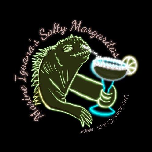 Design for Marine Iguana's Salty Margaritas