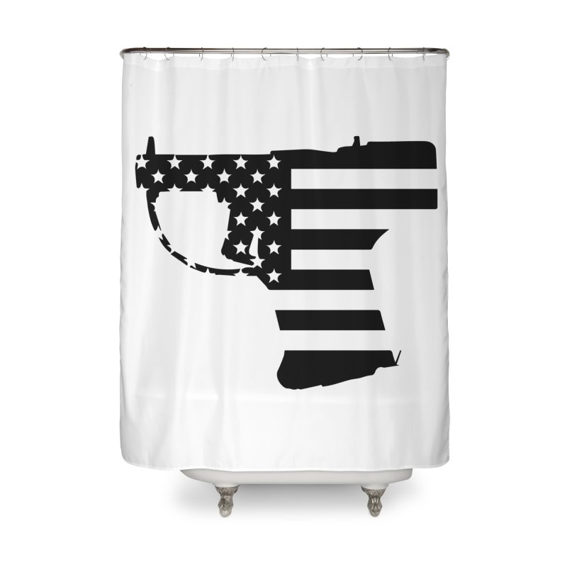 Liberator Home Shower Curtain by undergrounddesigns's Artist Shop