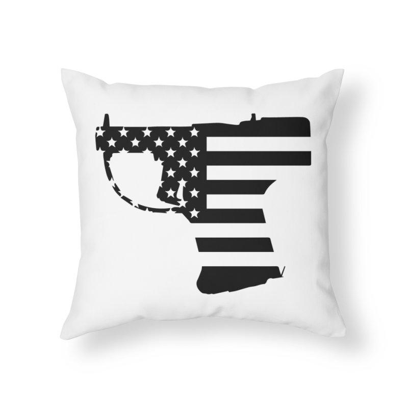 Liberator Home Throw Pillow by undergrounddesigns's Artist Shop