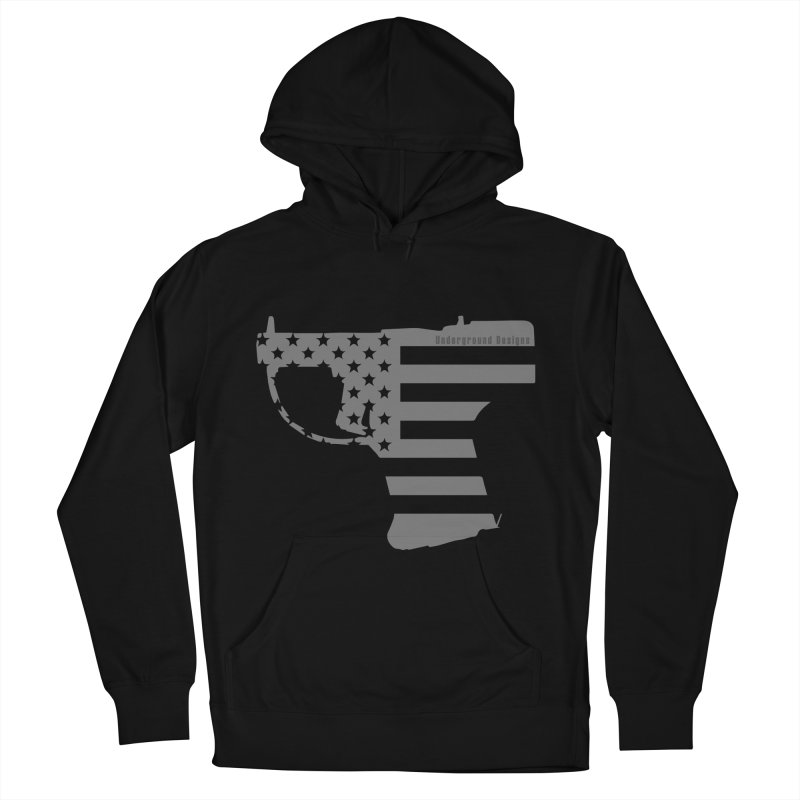 Liberator Men's Pullover Hoody by undergrounddesigns's Artist Shop