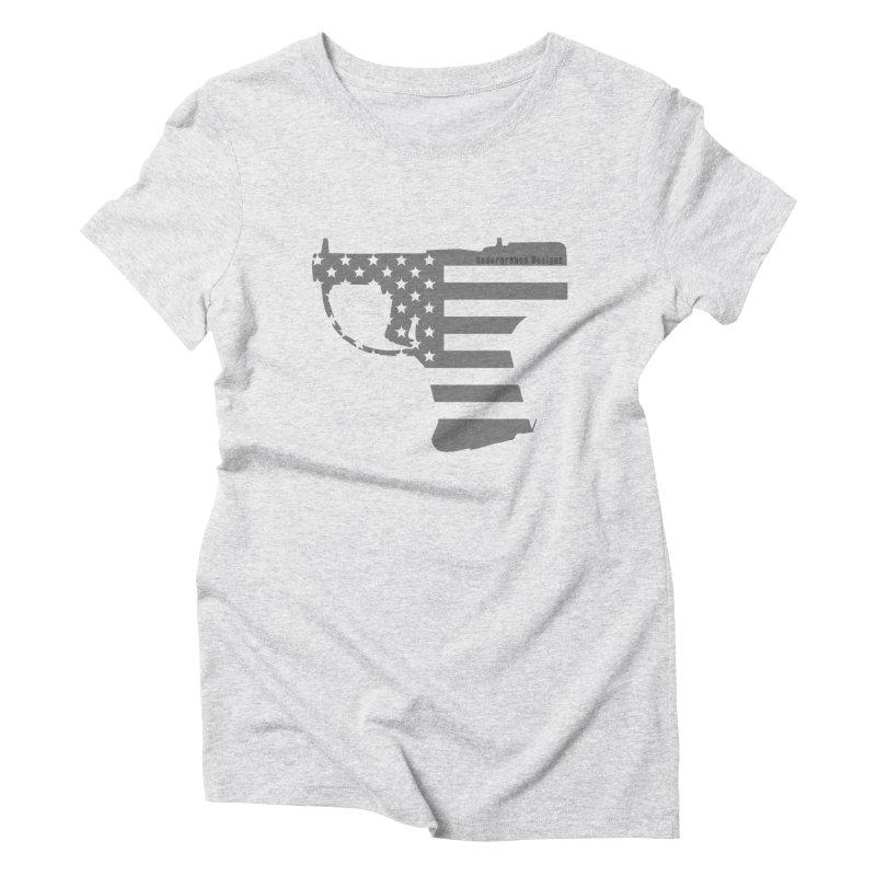 Liberator Women's Triblend T-Shirt by undergrounddesigns's Artist Shop