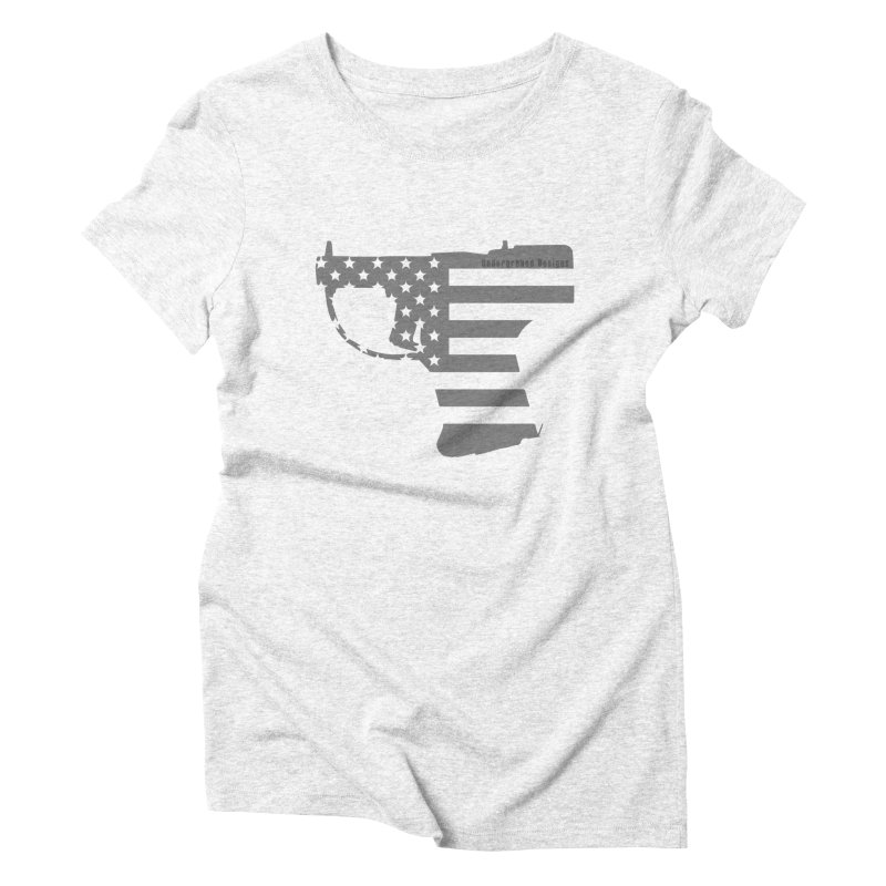 Liberator Women's Triblend T-shirt by undergrounddesigns's Artist Shop