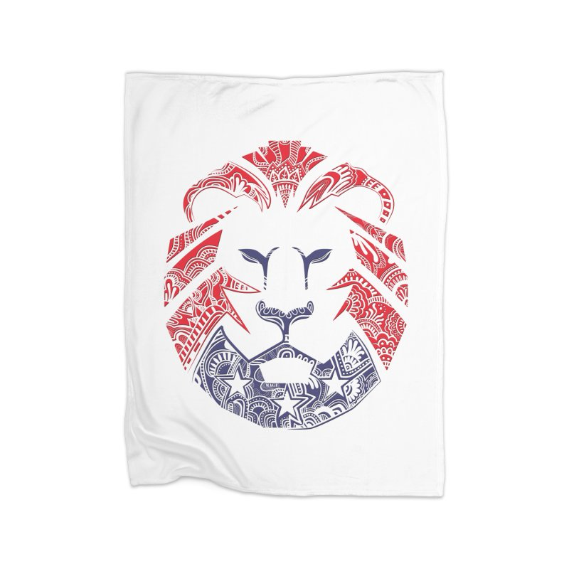 Lion Home Blanket by undergrounddesigns's Artist Shop
