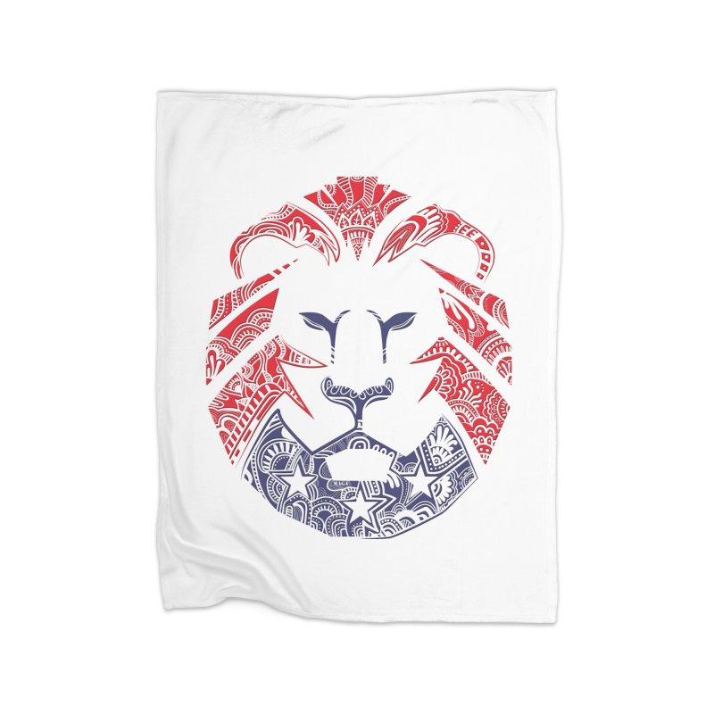 Lion Home Blanket by undergrounddesigns's Artist Shop
