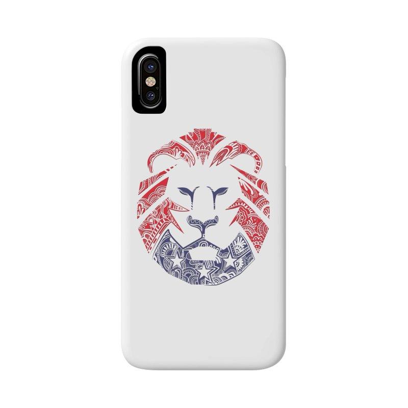 Lion Accessories Phone Case by undergrounddesigns's Artist Shop