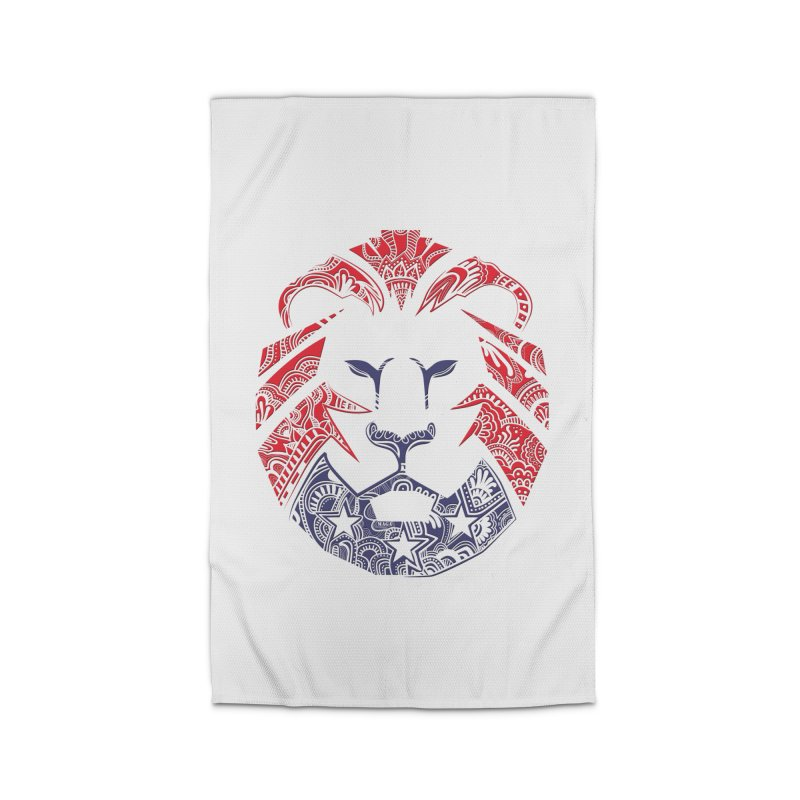 Lion Home Rug by undergrounddesigns's Artist Shop