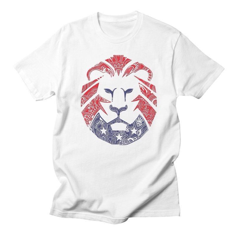 Lion Men's Regular T-Shirt by undergrounddesigns's Artist Shop
