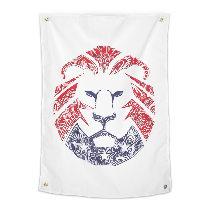 Lion Home Tapestry by undergrounddesigns's Artist Shop