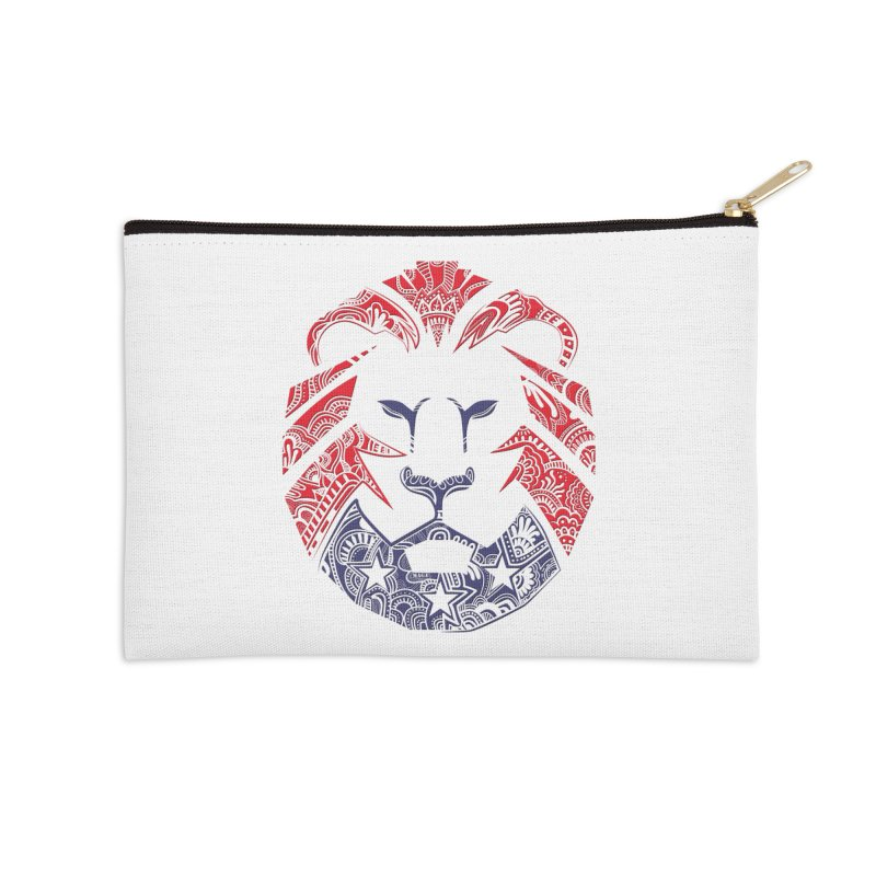 Lion Accessories Zip Pouch by undergrounddesigns's Artist Shop