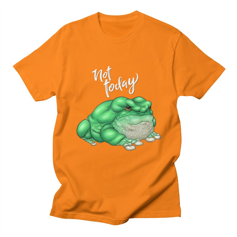 Not Today Men's T-Shirt by UnearthlyMike's Artist Shop