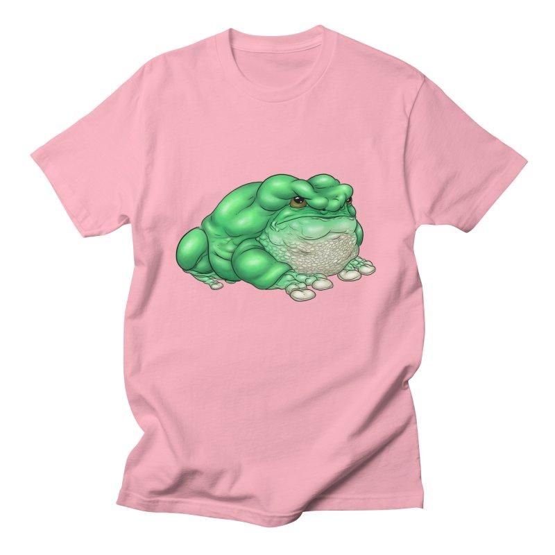 Green Tree Frog Men's T-Shirt by UnearthlyMike's Artist Shop