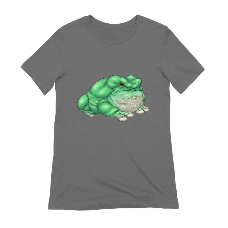 Green Tree Frog Women's T-Shirt by UnearthlyMike's Artist Shop