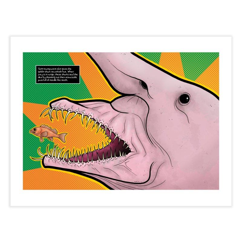 Goblin Shark Home Fine Art Print by UnearthlyMike's Artist Shop