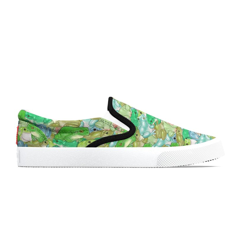 Fathomless Frogs Footwear Men's Shoes by UnearthlyMike's Artist Shop