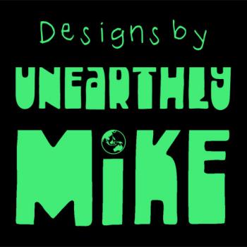 UnearthlyMike's Artist Shop Logo