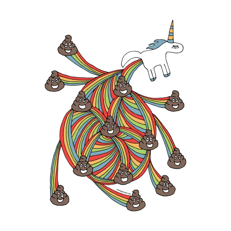 Pooping Unicorn None  by unexpected's Artist Shop