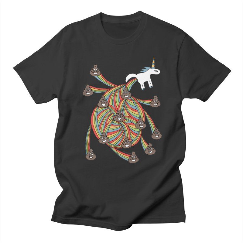 Pooping Unicorn Men's T-Shirt by unexpected's Artist Shop