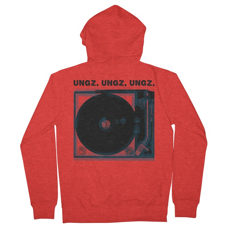 UNGZ UNGZ UNGZ Men's Zip-Up Hoody by ungz's Artist Shop