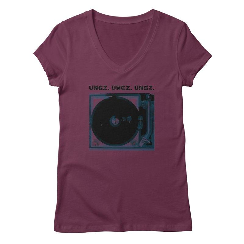 UNGZ UNGZ UNGZ Women's V-Neck by ungz's Artist Shop