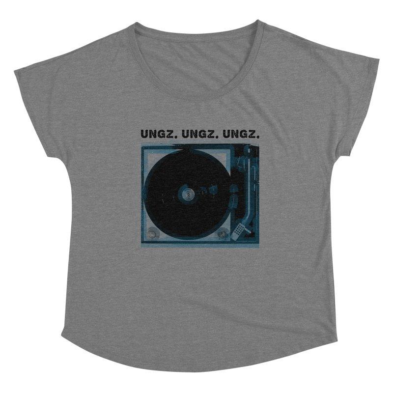 UNGZ UNGZ UNGZ Women's Scoop Neck by ungz's Artist Shop