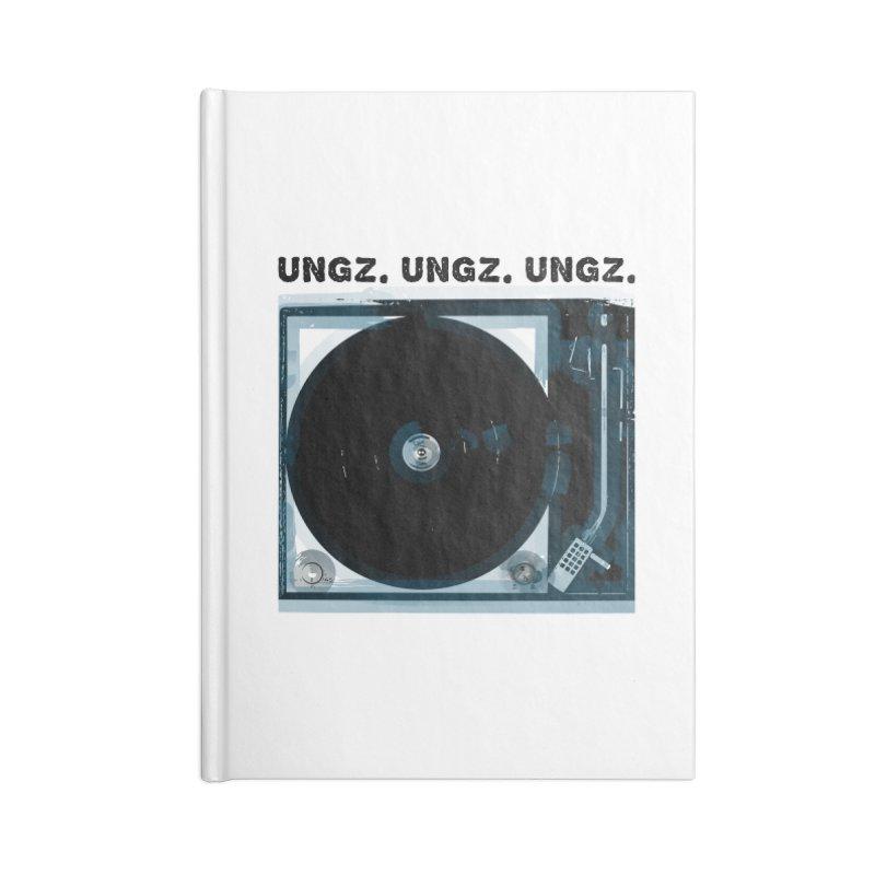 UNGZ UNGZ UNGZ Accessories Notebook by ungz's Artist Shop