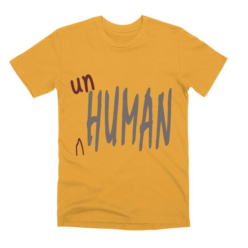 Unhuman Men's Premium T-Shirt by Unhuman Design
