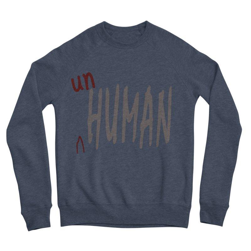 Unhuman Women's Sponge Fleece Sweatshirt by Unhuman Design
