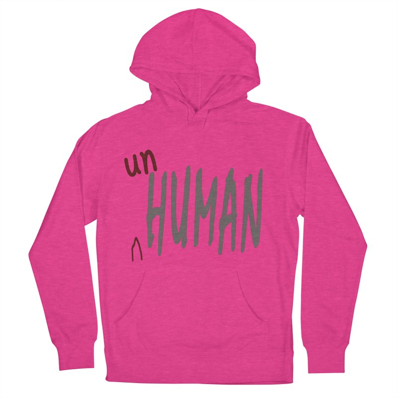 Unhuman Men's French Terry Pullover Hoody by Unhuman Design